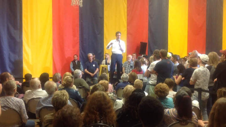 Click to watch: Beto O'Rourke on establishing a path to citizenship in Council Bluffs, IA