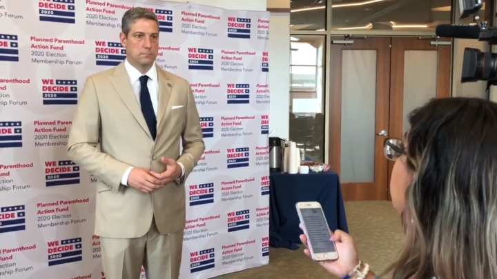 Click to watch: Tim Ryan on committing to decrease immigrant detention in Columbia, SC