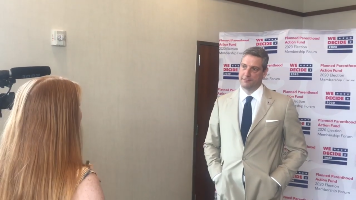 Click to watch: Tim Ryan on committing to lift the Hyde Amendment in Columbia, SC