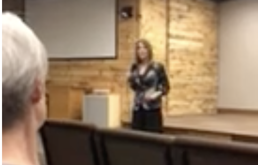 Click to watch: Marianne Williamson on repealing the Hyde Amendment in Grimes, IA