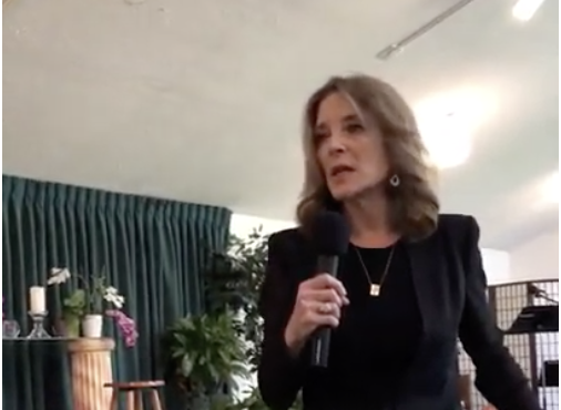Click to watch: Marianne Williamson on reducing mass incarceration in Cedar Rapids, IA