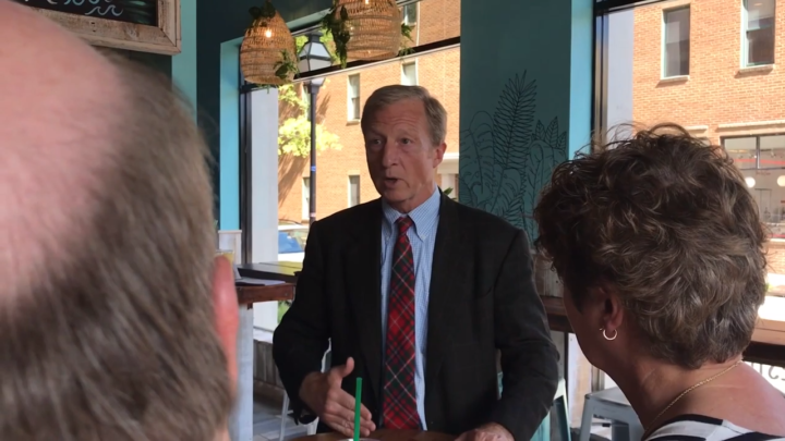 Click to watch: Tom Steyer on disentangling federal immigration forces from local law enforcement in Charleston, SC