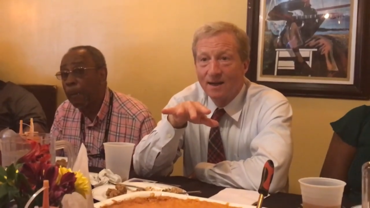 Click to watch: Tom Steyer on reducing mass incarceration in Charleston, SC