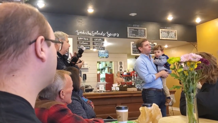Click to watch: Eric Swalwell on reproductive freedom and lifting the Hyde Amendment in Nevada, IA