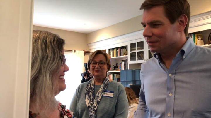 Click to watch: Eric Swalwell on Voting Rights in North Liberty, IA