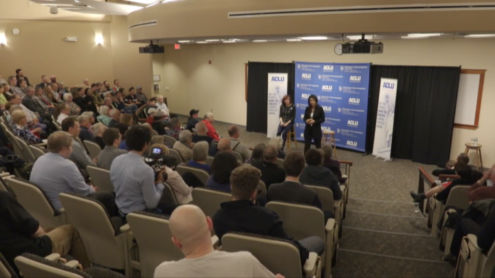 Click to watch: Tulsi Gabbard discusses legalizing marijuana and releasing inmates with non-violent marijuana offenses in Concord, NH