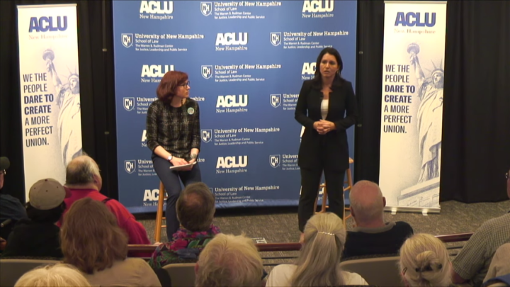 Click to watch: Tulsi Gabbard on criminal justice reform and reducing mass incarceration in Concord, NH