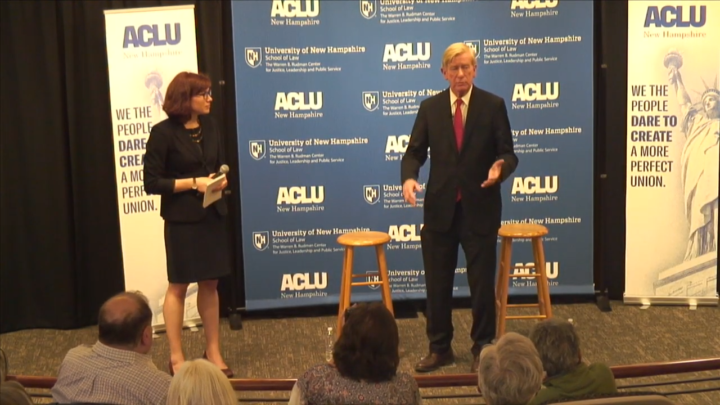 Click to watch: Bill Weld on ending federal prohibition of cannabis in Concord, NH