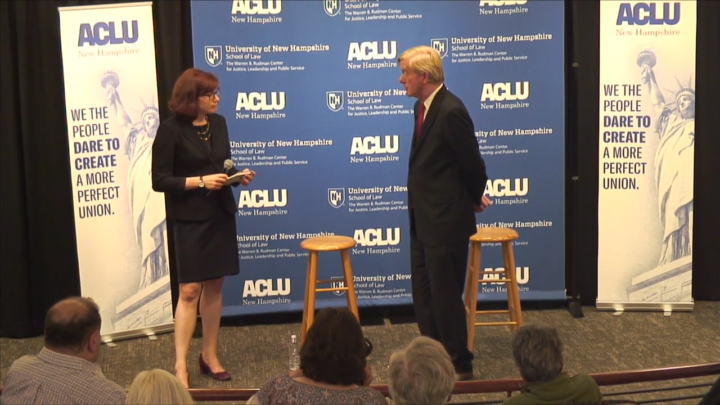 Click to watch: Bill Weld discussing lifting the Hyde amendment in Concord, NH