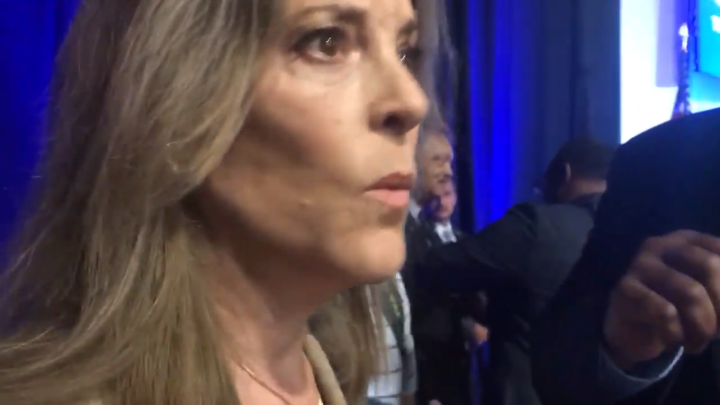 Click to watch: Marianne Williamson on committing to end immigration detention in Columbia, SC