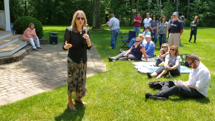 Click to watch: Marianne Williamson on creating a pathway for citizenship in Merimack, NH