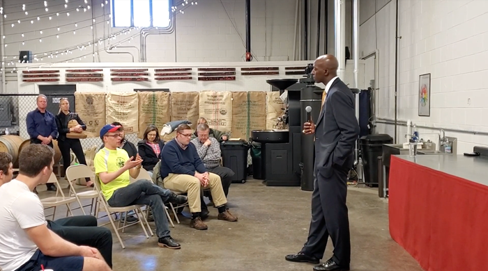Click to watch: Wayne Messam on mass incarceration in Des Moines, IA